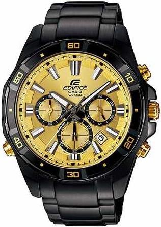 Relógio Casio Edifice Cronógrafo EFR-534BK-9AVDF