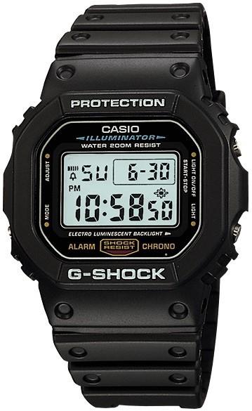 Relógio Casio G-Shock DW-5600E-1VD Preto Masculino