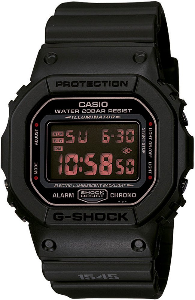 Relógio Casio G-Shock DW-5600MS-1DR Preto Masculino