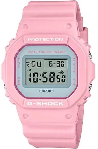 Relógio Casio G-Shock DW-5600SC-4DR Rosa Feminino