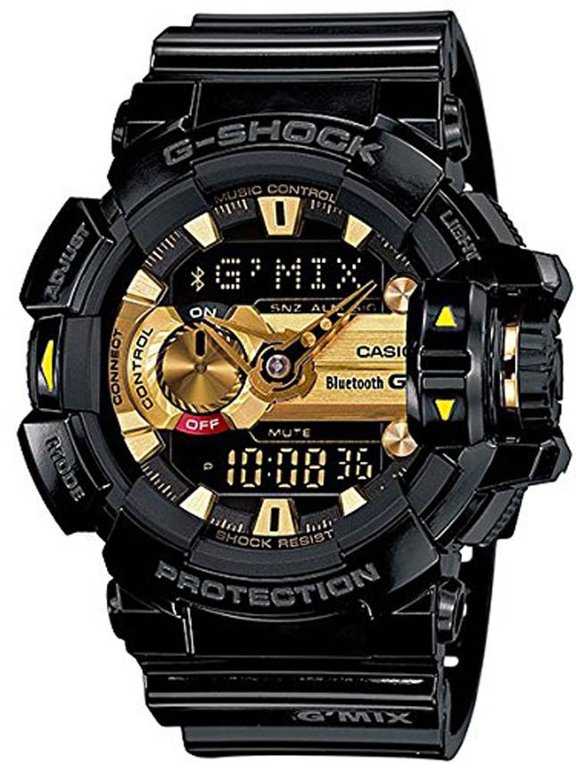 Relógio Casio G-Shock G'MIX GBA-400-1A9DR *Bluetooth