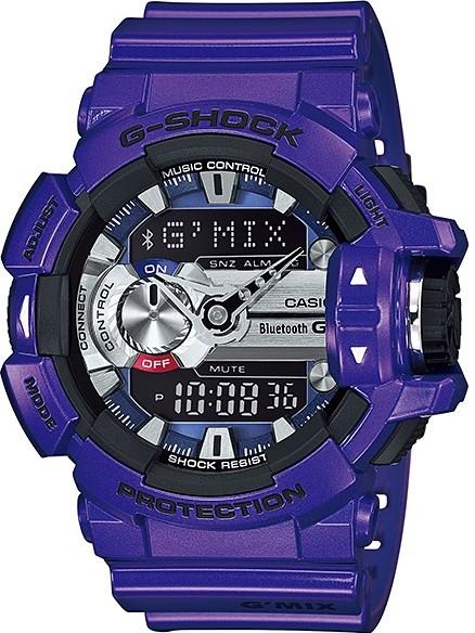 Relógio Casio G-Shock G'MIX GBA-400-2ADR *Bluetooth