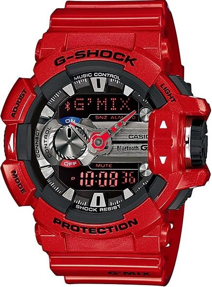 Relógio Casio G-Shock G'MIX GBA-400-4ADR *Bluetooth