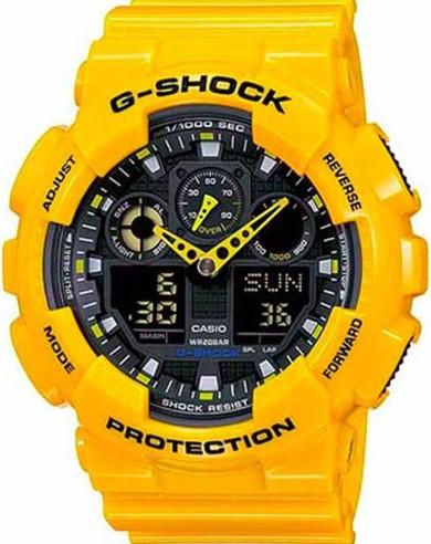 Relógio Casio G-Shock GA-100A-9ADR