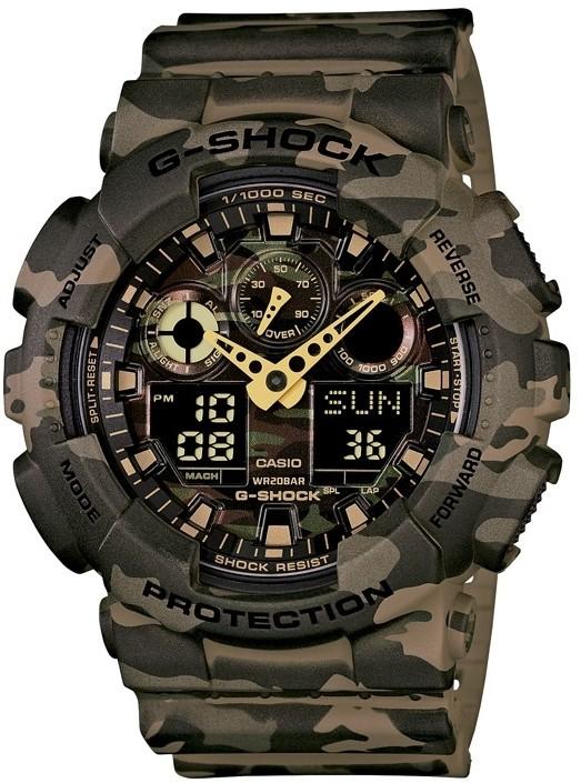 Relógio Casio G-Shock GA-100CM-5ADR Camuflado Masculino