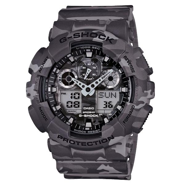 Relógio Casio G-Shock GA-100CM-8ADR Camuflado Masculino