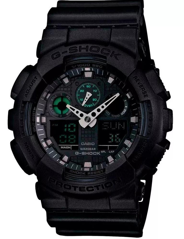 Relógio Casio G-Shock GA-100MB-1ADR Preto Masculino