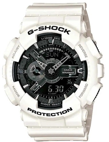 Relógio Casio G-Shock GA-110GW-7ADR Branco Masculino
