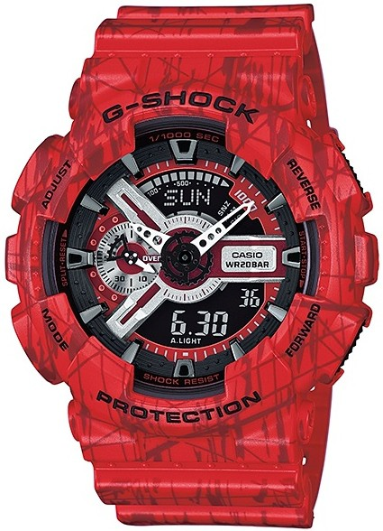 Relógio Casio G-Shock GA-110SL-4ADR