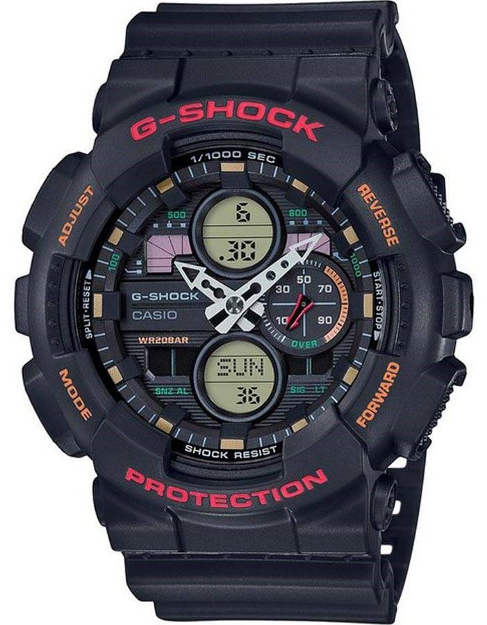 Relógio Casio G-Shock GA-140-1A4DR Preto Masculino