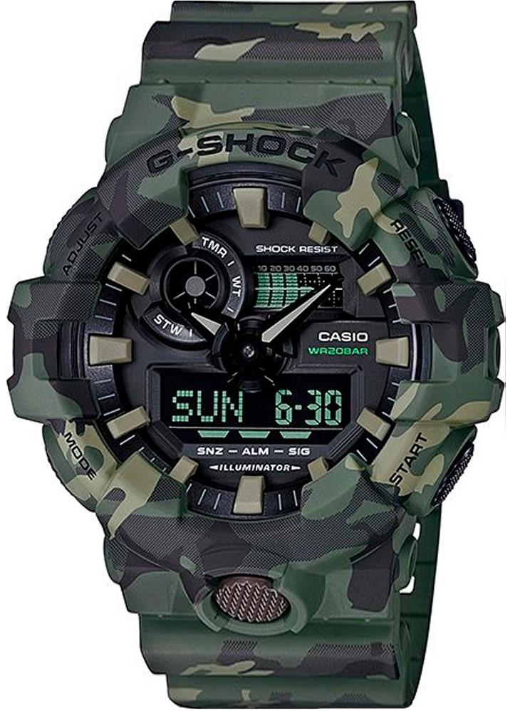 Relógio Casio G-Shock GA-700CM-3ADR Camuflado Masculino