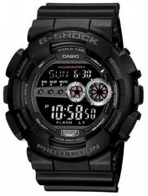 Relógio Casio G-Shock GD-100-1BDR Masculino Preto