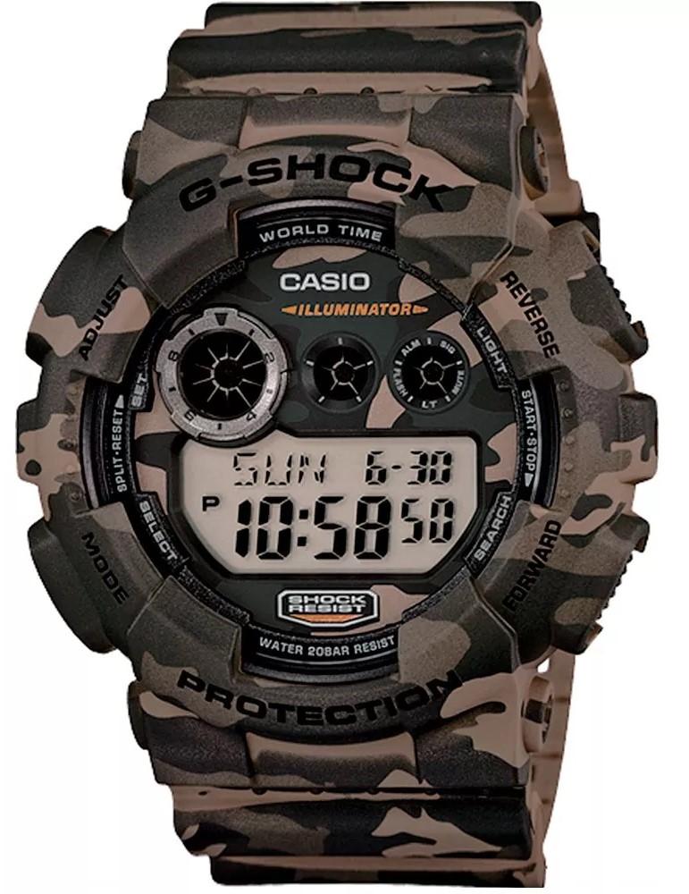 Relógio Casio G-Shock GD-120CM-5DR Camuflado Masculino