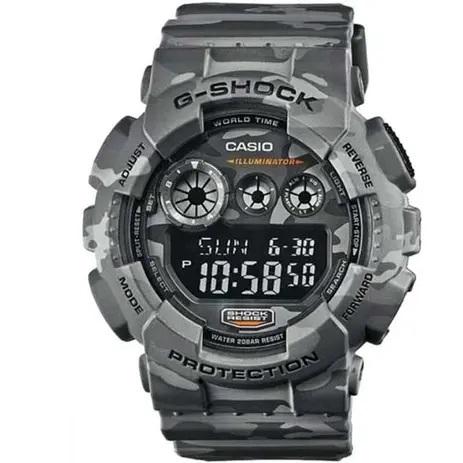 Relógio Casio G-Shock GD-120CM-8DR Camuflado Masculino