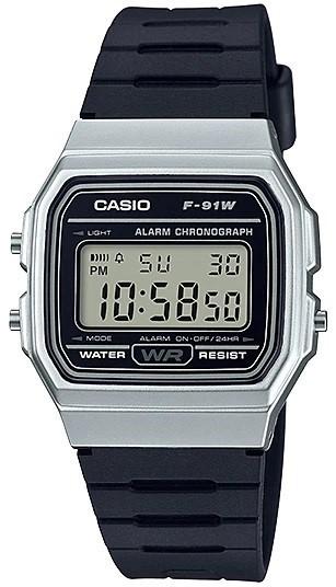 Relógio Casio Unissex Digital F-91WM-7ADF