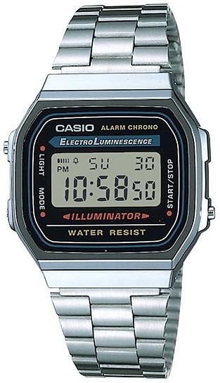 Relógio Casio Vintage A168WA-1WDF Unissex