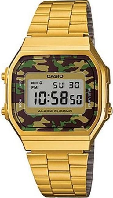 Relógio Casio Vintage A168WEGC3DF Feminino Dourado