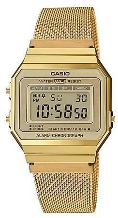 Relógio Casio Vintage A700WMG9ADF Feminino Dourado