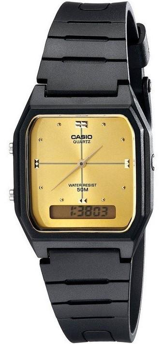 Relógio Casio Vintage AW48HE9AV Preto
