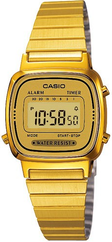 Relógio Casio Vintage LA670WGA-9DFU