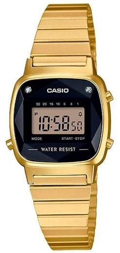Relógio Casio Vintage LA670WGAD1DF Feminino Diamond