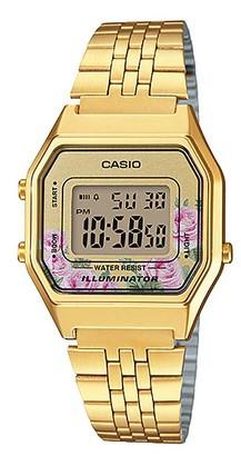 Relógio Casio Vintage LA680WGA4CDF Feminino