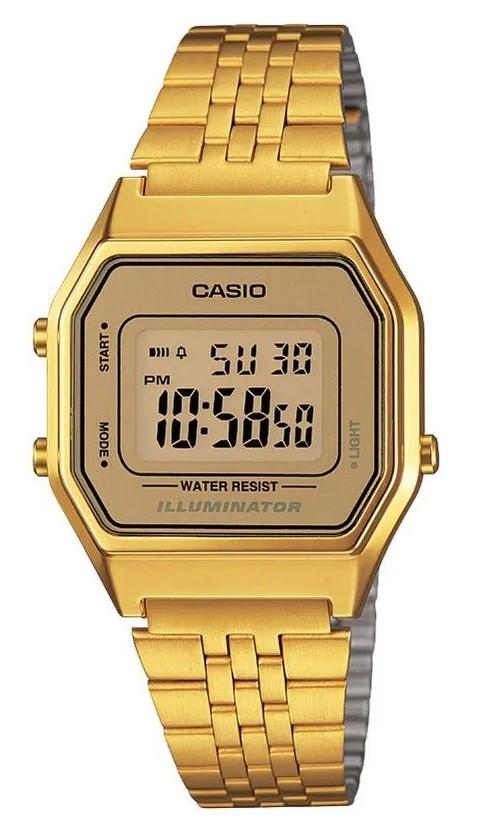 Relógio Casio Vintage LA680WGA-9DF Dourado Feminino