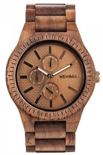 Relógio de Madeira Wewood Kos Nut Bronze