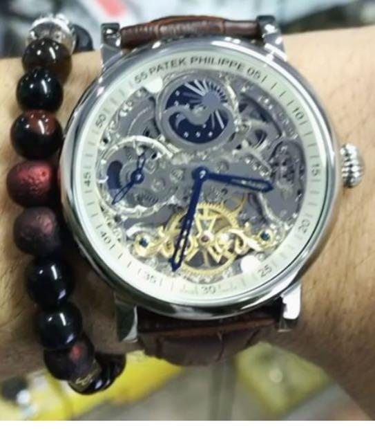 Relógio Patek Philippe Esqueleto
