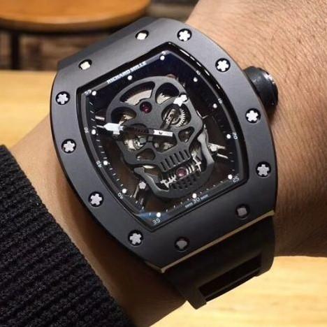 Relógio Richard Mille Skull