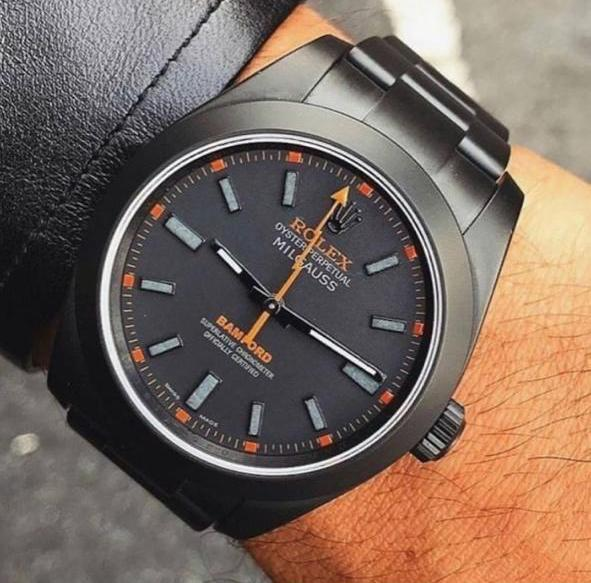 Relógio Rolex Milgauss Carbon