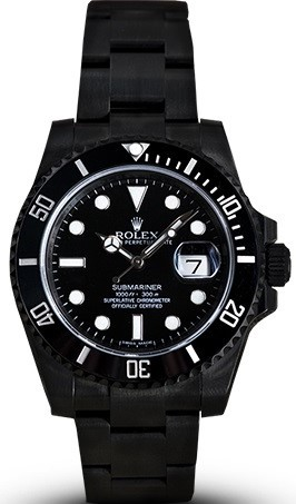 Relógio Rolex Submariner All Black