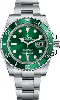Relógio Rolex Submariner Verde