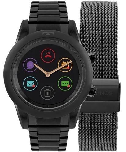 Relógio Smartwatch Technos Connect Duo Preto P01AD/4P