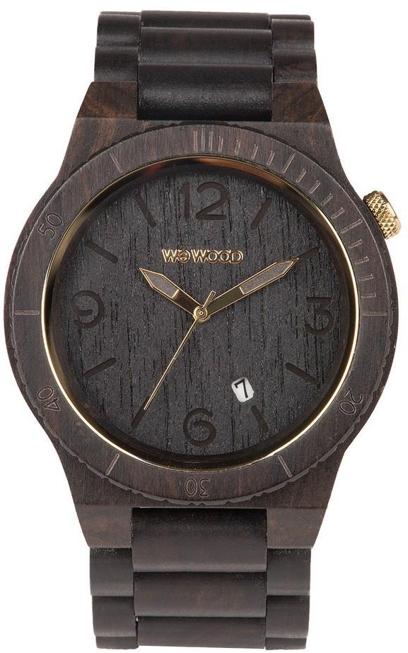 Relógio Wewood Alpha Black Gold