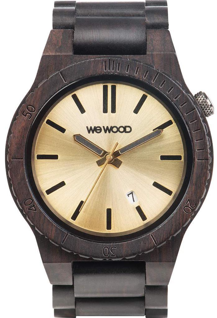 Relógio Wewood Arrow Black Gold
