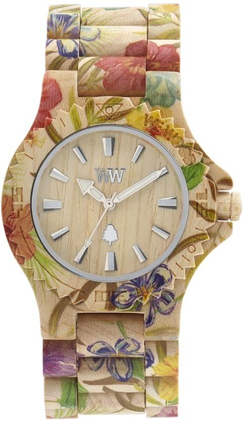 Relógio Wewood Date Flower Beige
