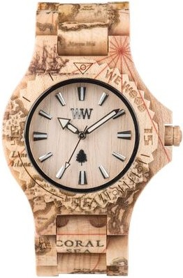 Relógio Wewood Date Print Magellano Beige
