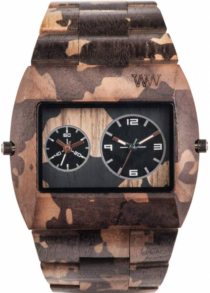 Relógio Wewood Jupiter Nature Camo Nut
