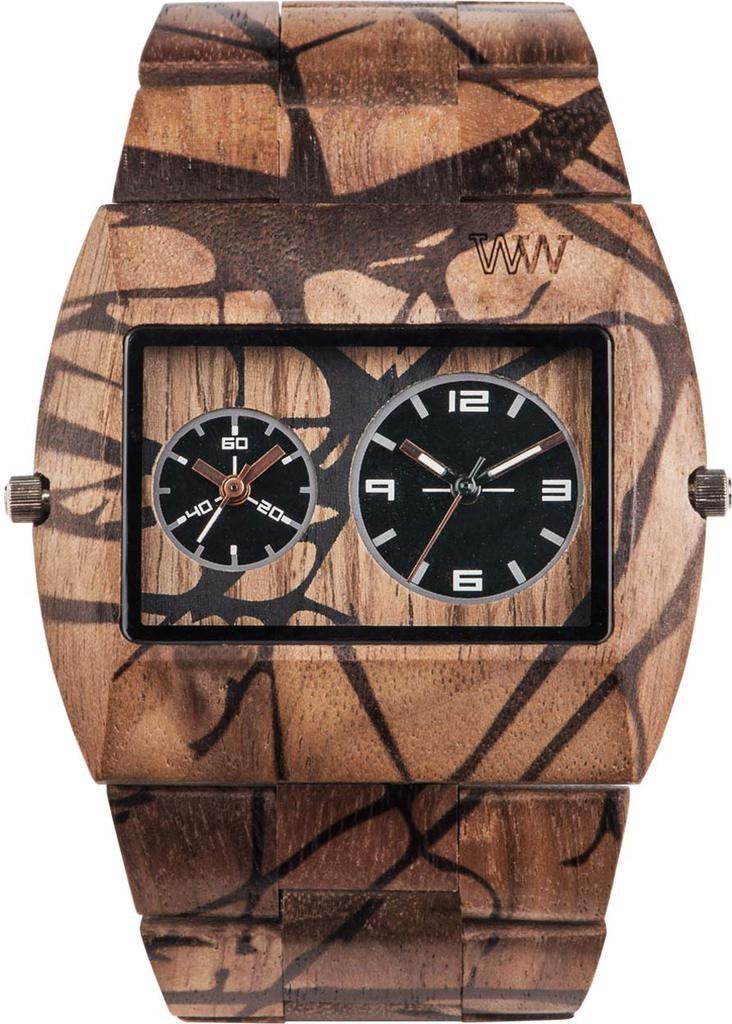 Relógio Wewood Jupiter Nature Tree Nut