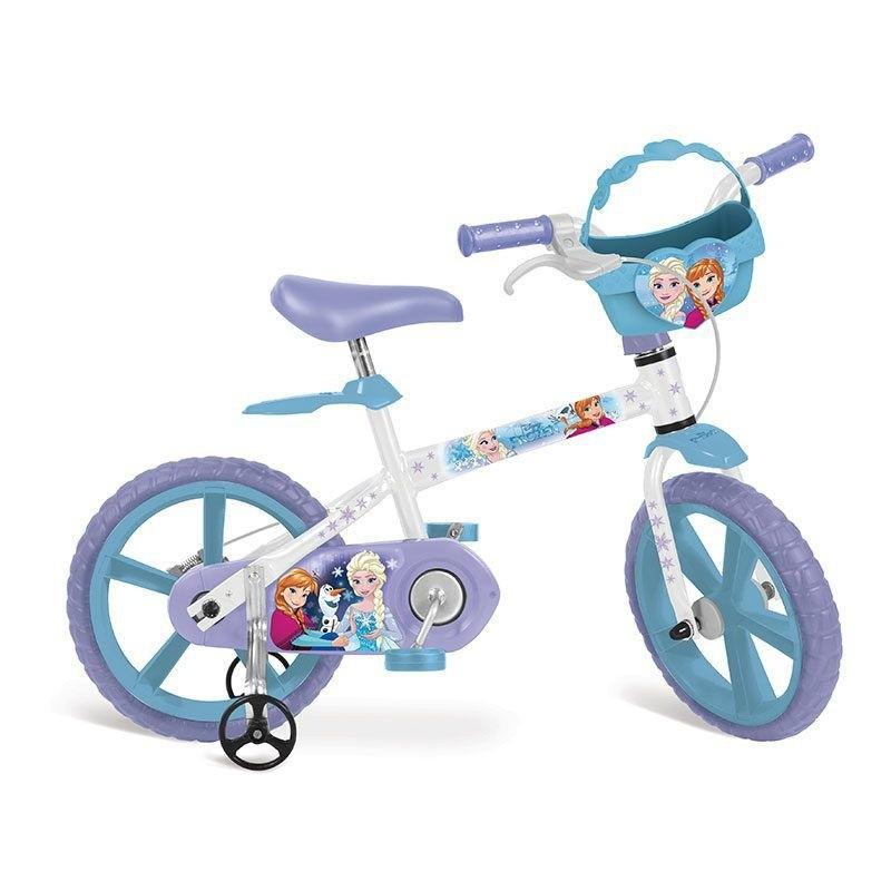 Bicicleta Aro 14 Frozen 2498 - Bandeirante