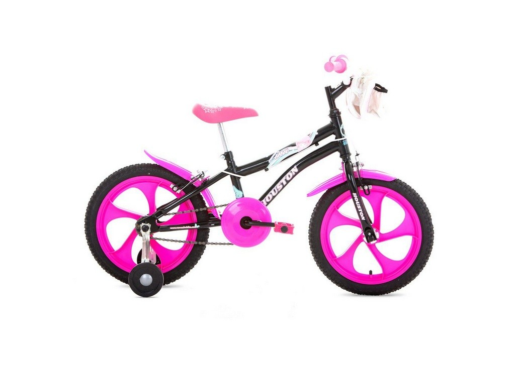 Bicicleta Aro 16 Tina Preta TN162Q - Houston