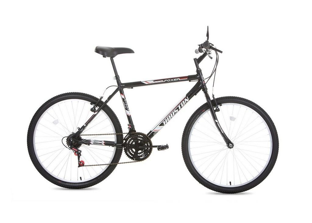 Bicicleta Aro 26 Foxer Hammer Preta FX26H3Q - Houston