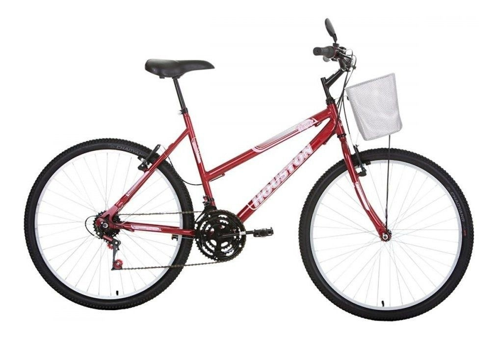 Bicicleta Aro 26 Foxer Maori Vermelha FX26M2Q - Houston