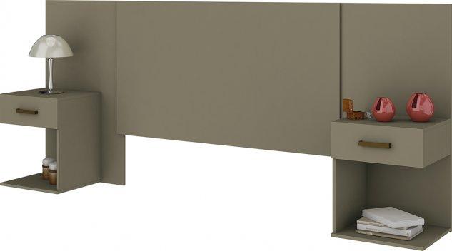 Cabeceira BOX 1.40/1.60 CALENDA c/Gaveta - Duna