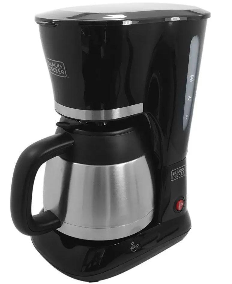 Cafeteira Black & Decker CM200I Thermal Inox 750W