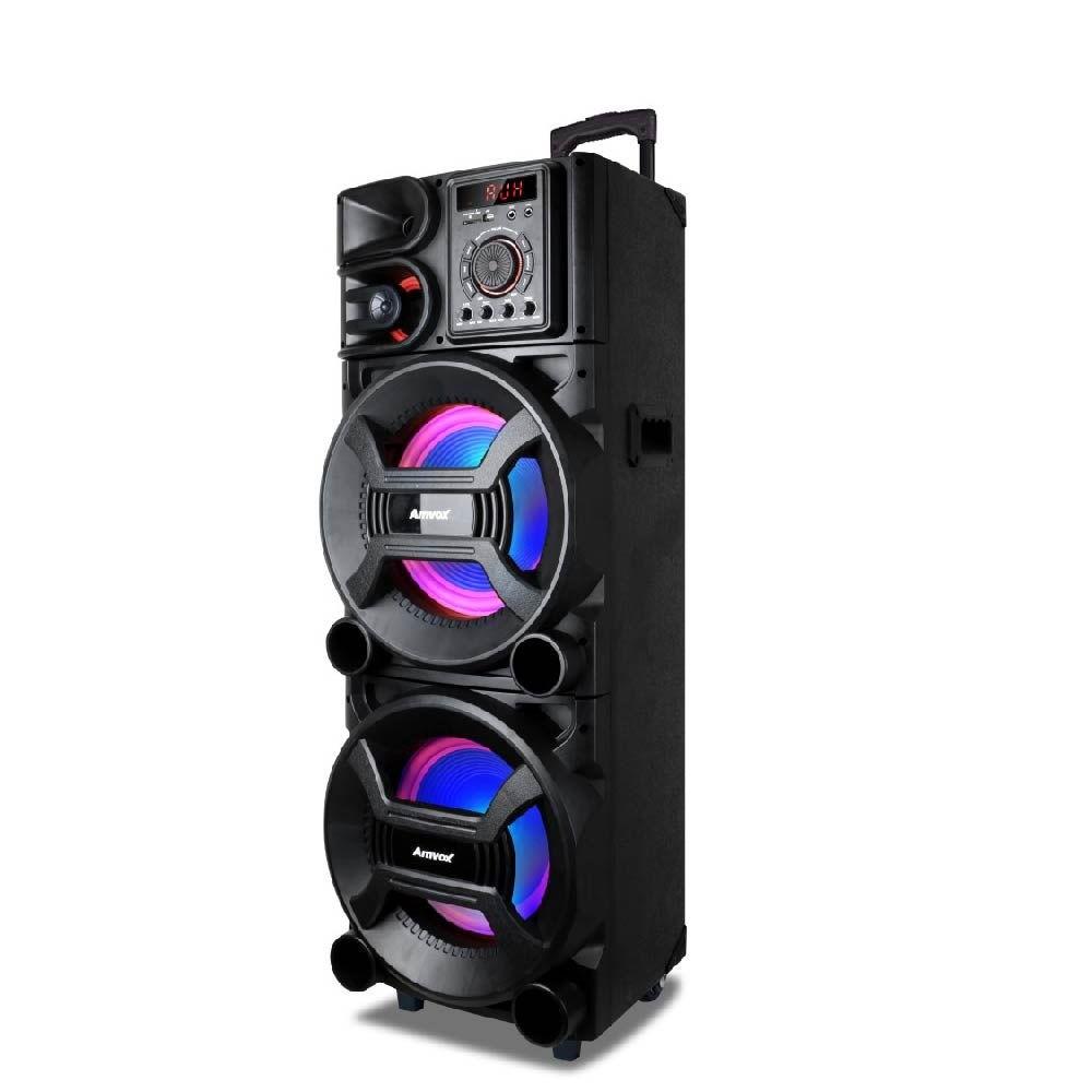 Caixa Amplificada Amvox 1500W RMS ACA1501 - Bivolt