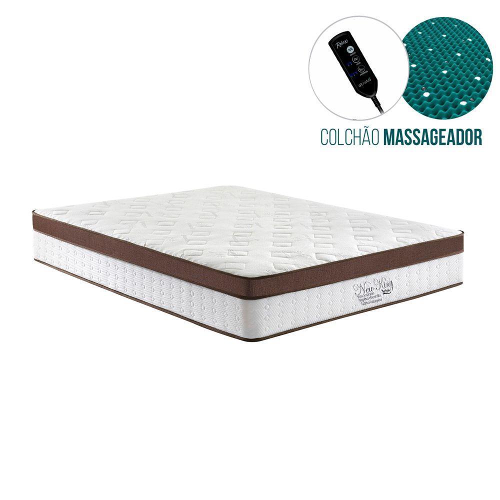 Colchão Magnético 1.38X30 NEW KING Massageador