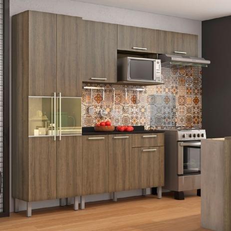 Cozinha 4 pcs STAR - CASTANHO