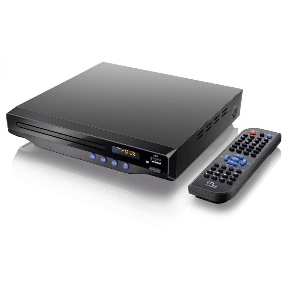 Dvd Player Com Saida Hdmi 5.1 Canais/ Karaoke/ Usb - Sp193 MULTILASER